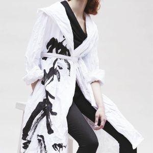 Igor Dobranic Orient Print Long Barcelona Jacket